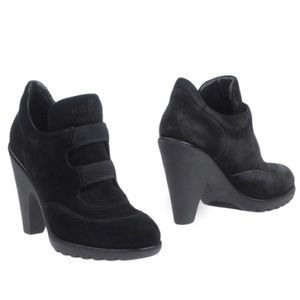 HOGAN Lagerfeld Brogues High Heeled Ankle Boots